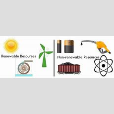 Difference Between Renewable And Nonrenewable Resources (with Comparison Chart)  Key Differences