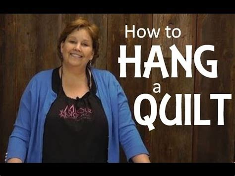 how to hang a quilt quilting basics hanging a quilt