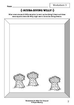 Worksheets for WILLY THE DREAMER - Anthony Browne