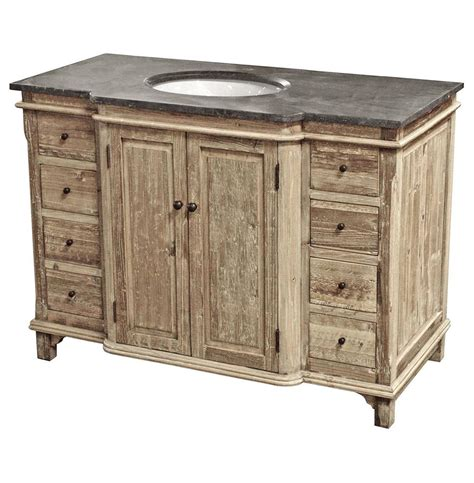 Country Vanity by Sinclar Country Reclaimed Pine Wash Blue