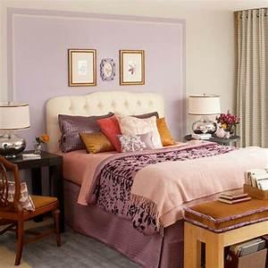 Bett Mit Kissen Dekorieren : tolle interior farben die die atmosph re im raum erfrischen ~ Bigdaddyawards.com Haus und Dekorationen