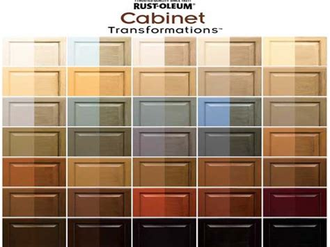 Rustoleum Cabinet Transformations Color Swatches by Glaze Kitchen Cabinets Best Paint For Kitchen Cabinets
