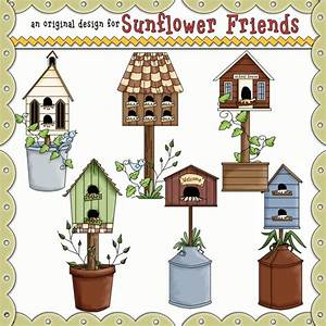 Country Graphics Free Country Birdhouses Clipart Country