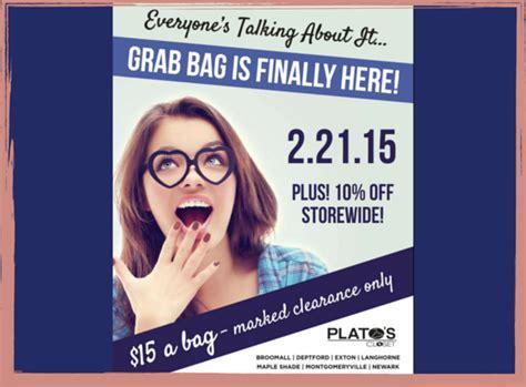plato s closet grab bag sale feb 21 paoli shoppes