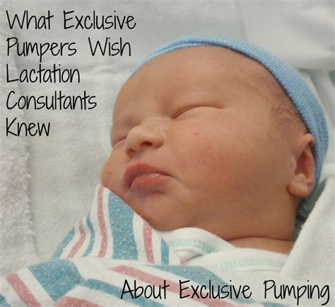 4 Things That Exclusive Pumpers Wish Their Lactation