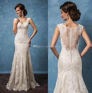 mermaid wedding dresses 2017 amelia sposa bridal gowns cap With amelia sposa wedding dress cost