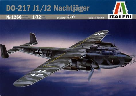 Dornier Do 217 J-1/2 Review By Glen Porter (italeri 1/72