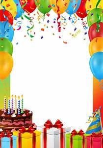 Birthday, Frame, Png, Transparent, Image