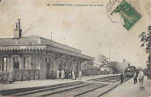 40 Rue De La Gare Rouffach : courbevoie 92 hauts de seine cartes postales ~ Premium-room.com Idées de Décoration