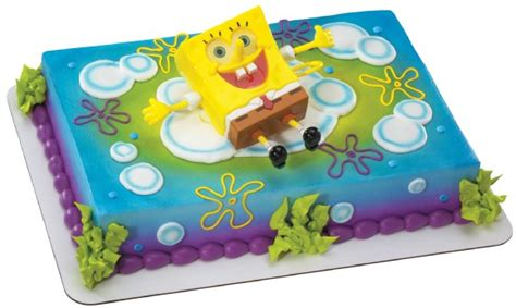 spongbob squarepants ticklepants cake topper