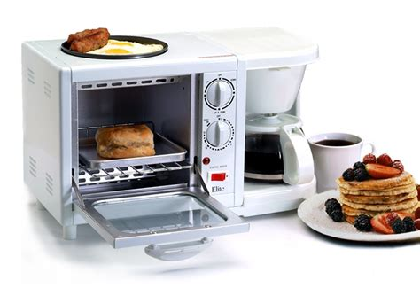 3 in 1 Breakfast Station   Toaster, Coffee Pot, and Griddle   Buy Something Cool
