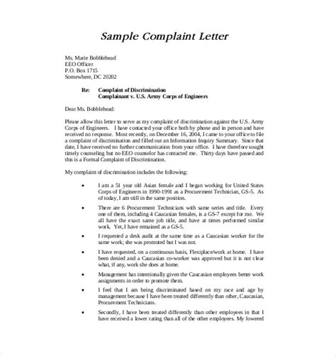 formal letter complaint  ks cover bb