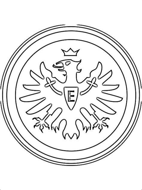 Kleurplaat Bayermunchen by Kleurplaat Eintracht Frankfurt Logo Gratis Kleurplaten