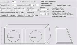 Gehäuse Berechnen : bassreflex f r 2 bull audio 39 s sw 12 car hifi subwoofer geh use hifi forum ~ Themetempest.com Abrechnung