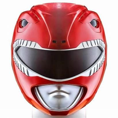 Ranger Power Rangers Helmet Head Face Mighty