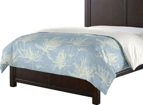 light blue duvet cover custom reversible light blue graphic print duvet cover