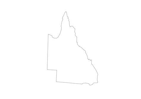 geo map australia queensland