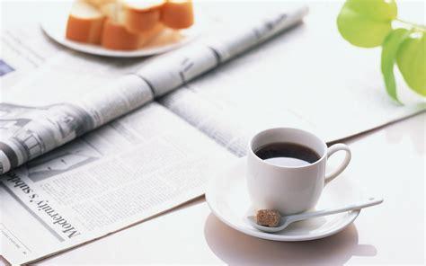 Coffee talk coffee business magazine. HD Morning Coffee Newspaper HD Background Wallpaper   Download Free - 141525