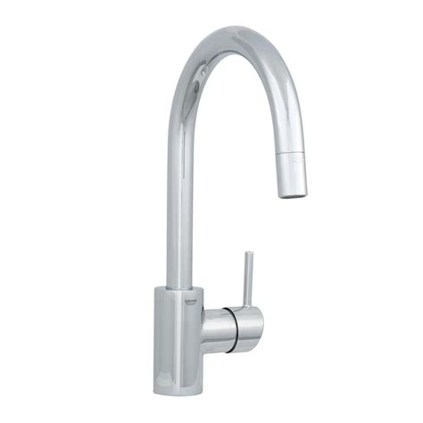 grohe kitchen faucet grohe concetto single handle pull out sprayer kitchen