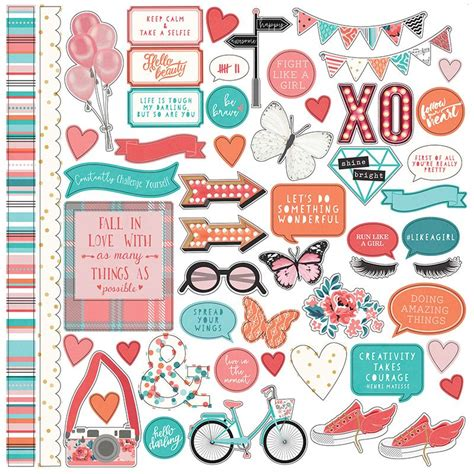 Photo Play Paper - Like a Girl Collection - 12 x 12 ...