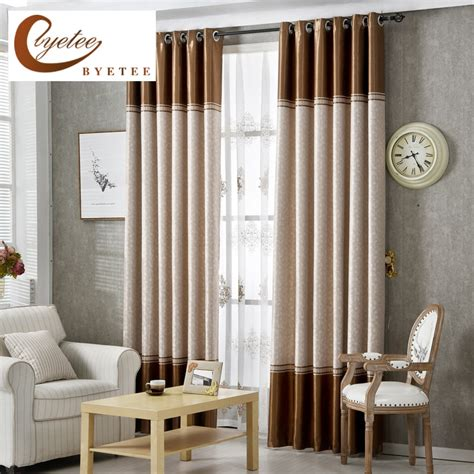 Quality Curtains And Drapes - byetee high quality curtains fabric stripe drapes