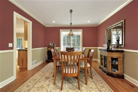 two tone living room walls dining room with two toned walls dining room in suburban