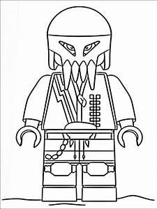 Lego Polizei Zum Ausmalen Fr Kinder 7