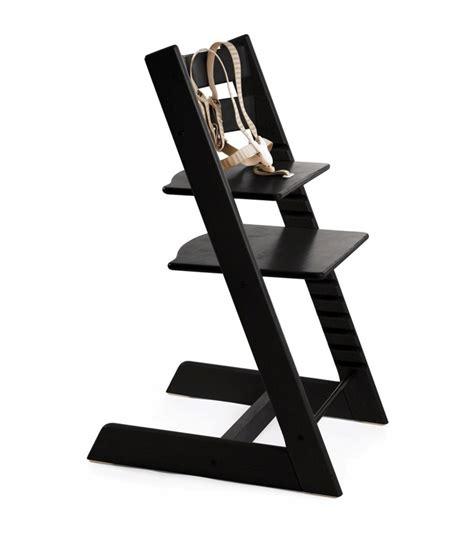 harnais chaise tripp trapp stokke tripp trapp high chair in black