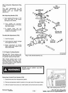 Bobcat 700 720 721 722 Skid Steer Loaders Service Manual