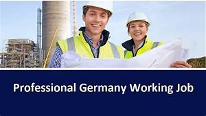 Online Jobs In Germany : professional germany working job gbsnote online ~ Kayakingforconservation.com Haus und Dekorationen