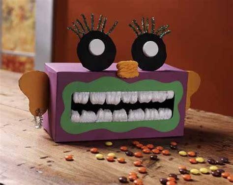 Halloween Tissue Box Monster