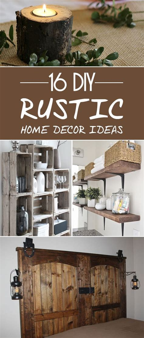 diy rustic decor projects diy home decor ideas home