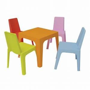 Table Et Chaise Plastique Enfant Pi Ti Li