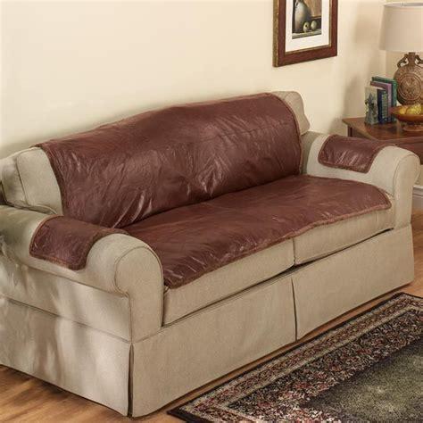 housse de canapé en cuir étanche solide de protection en cuir housse de canapé