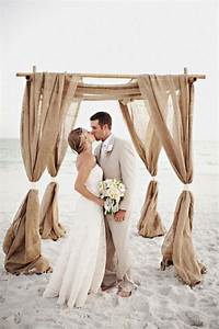 burlap beach wedding ideas beach wedding tips With wedding dresses for beach ceremony