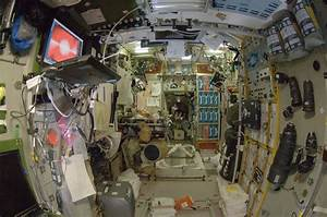 International Space Station Interior Sleeping Quarters ...