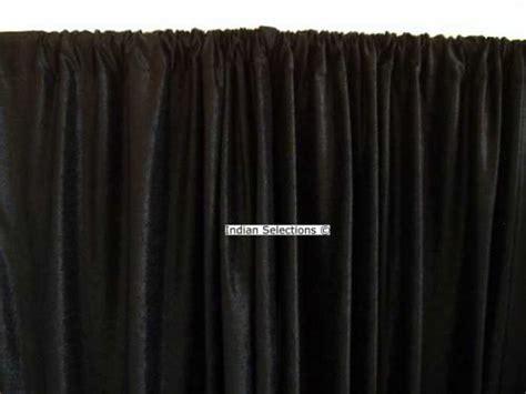 custom made curtains black velvet curtains drapes