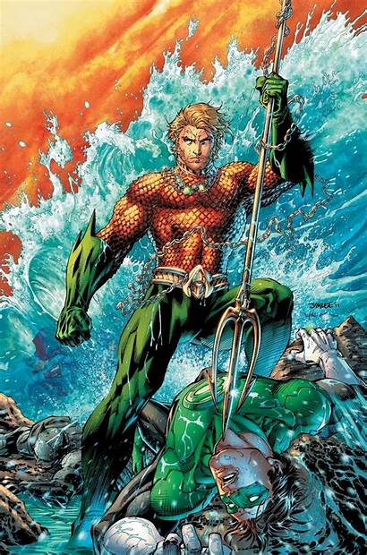 Aquaman 52 Justice League Sci Fi Dsng