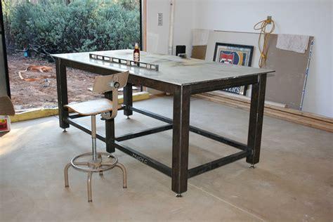 steel welding table plans new welding table ofn forums