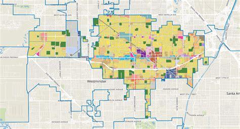 Zoning Map  City Of Garden Grove