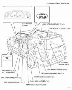 Connection Of Connectors For Side Airbag Sensor And Rear