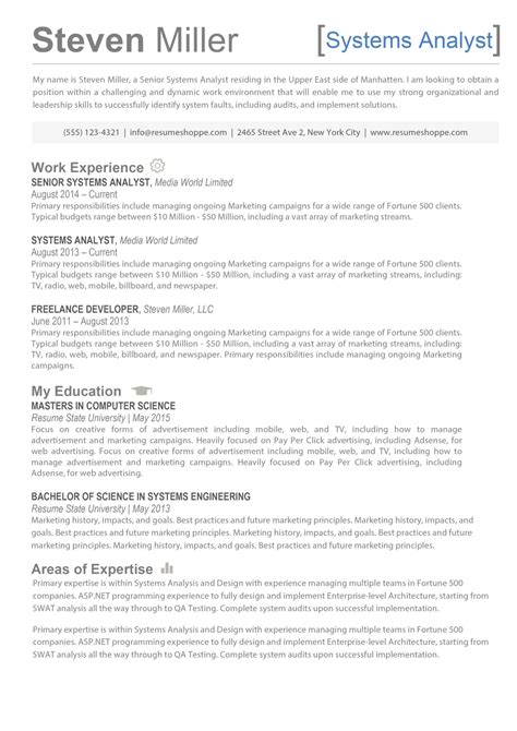 A Resume by The Steven Resume Creative Resume For It Professionals