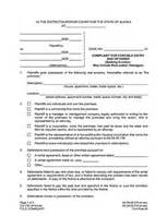 alaska eviction forms eviction notice forms legal eviction warnings ez