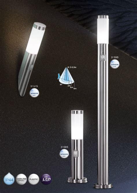 led außenbeleuchtung mit bewegungsmelder led aussenleuchte mit bewegungsmelder wandleuchte sockelleuchte standleuchte aussenbeleuchtung