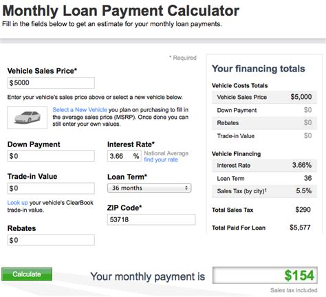 Used Car Loan Payment Calculators  For Car Sellers  Car Tips