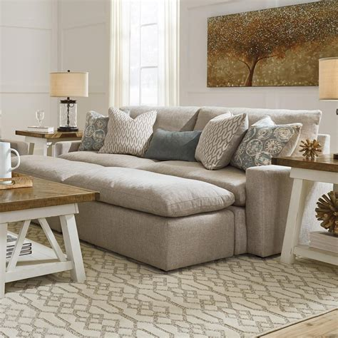 Pit Sofa Furniture by Benchcraft By Melilla Pit Sectional Sofa With 2