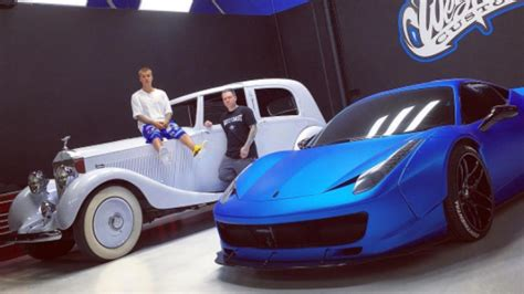 Justin Bieber Car by All The Supercars In Justin Bieber S Garage Gq India
