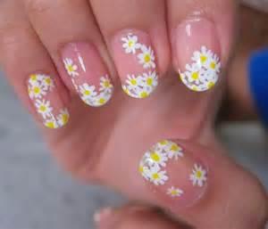 Daisy nails nail art daisies and