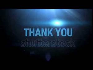 Thank You video For PPT - YouTube