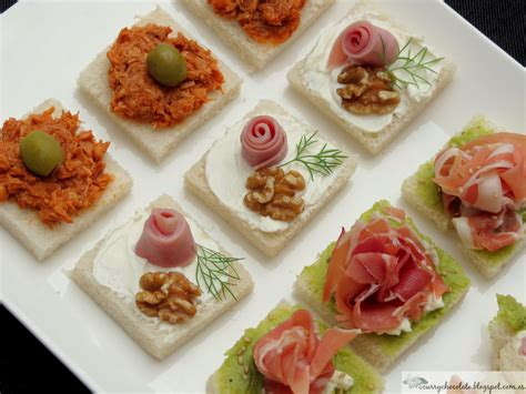 easiest canapes curry y chocolate canapés fáciles parte 1 easy